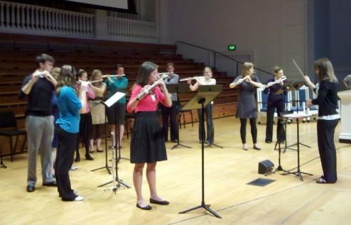 Wheaton College and Elmhurst University Flute Studios